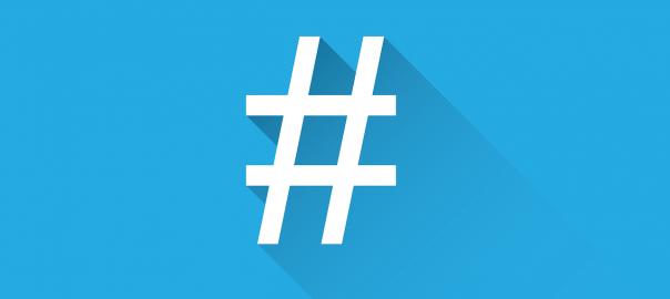 La bonne utilisation du hashtag sur Twitter.