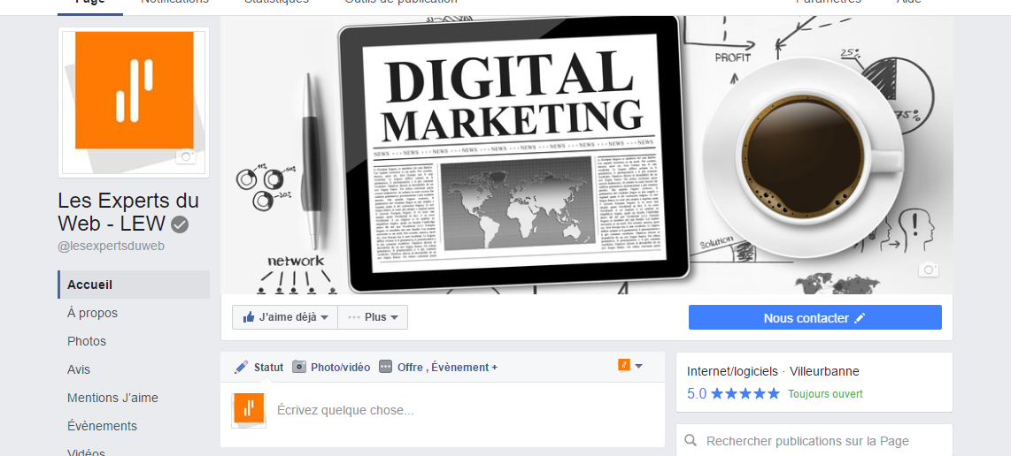 La bonne optimisation de sa page Facebook