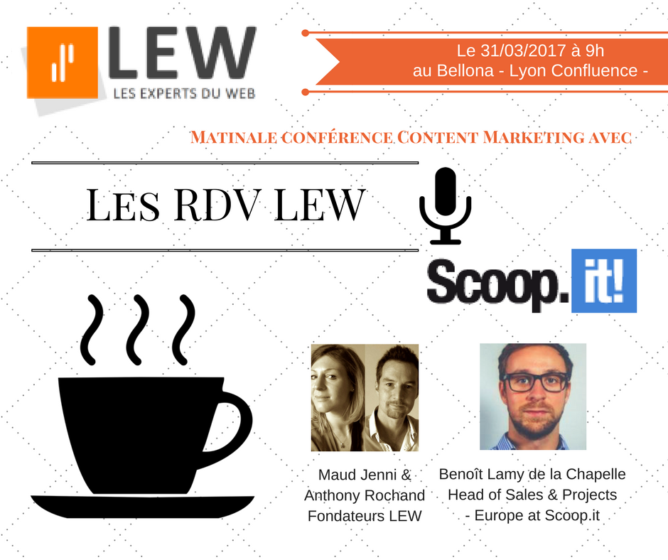 RDV LEW 1 morning conference content marketing with Scoopit
