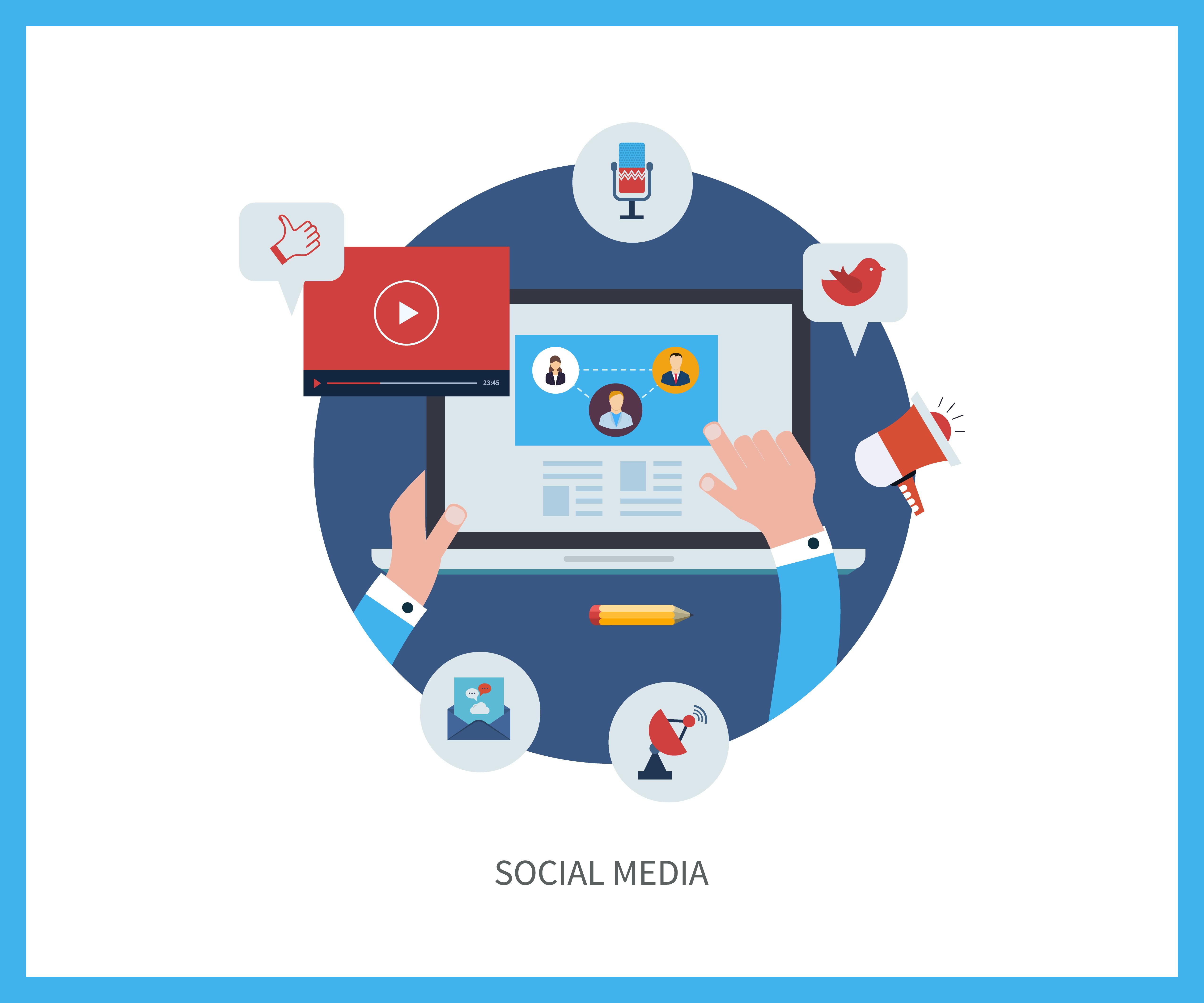 Les médias sociaux dans le processus inbound marketing_
