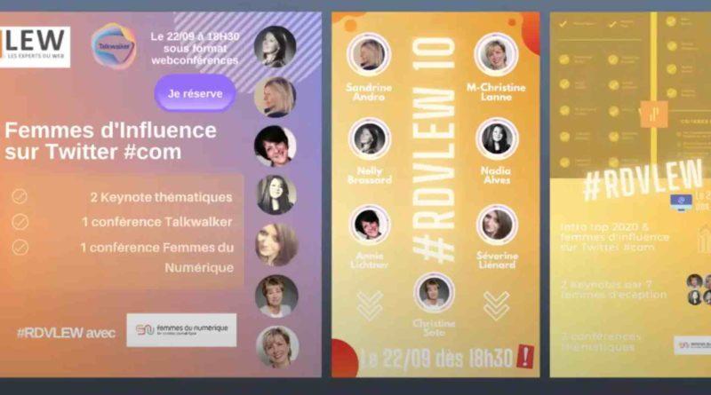 RDVLEW n°10 spécial Femmes d'influence sur Twitter : les temps forts de l'évènement